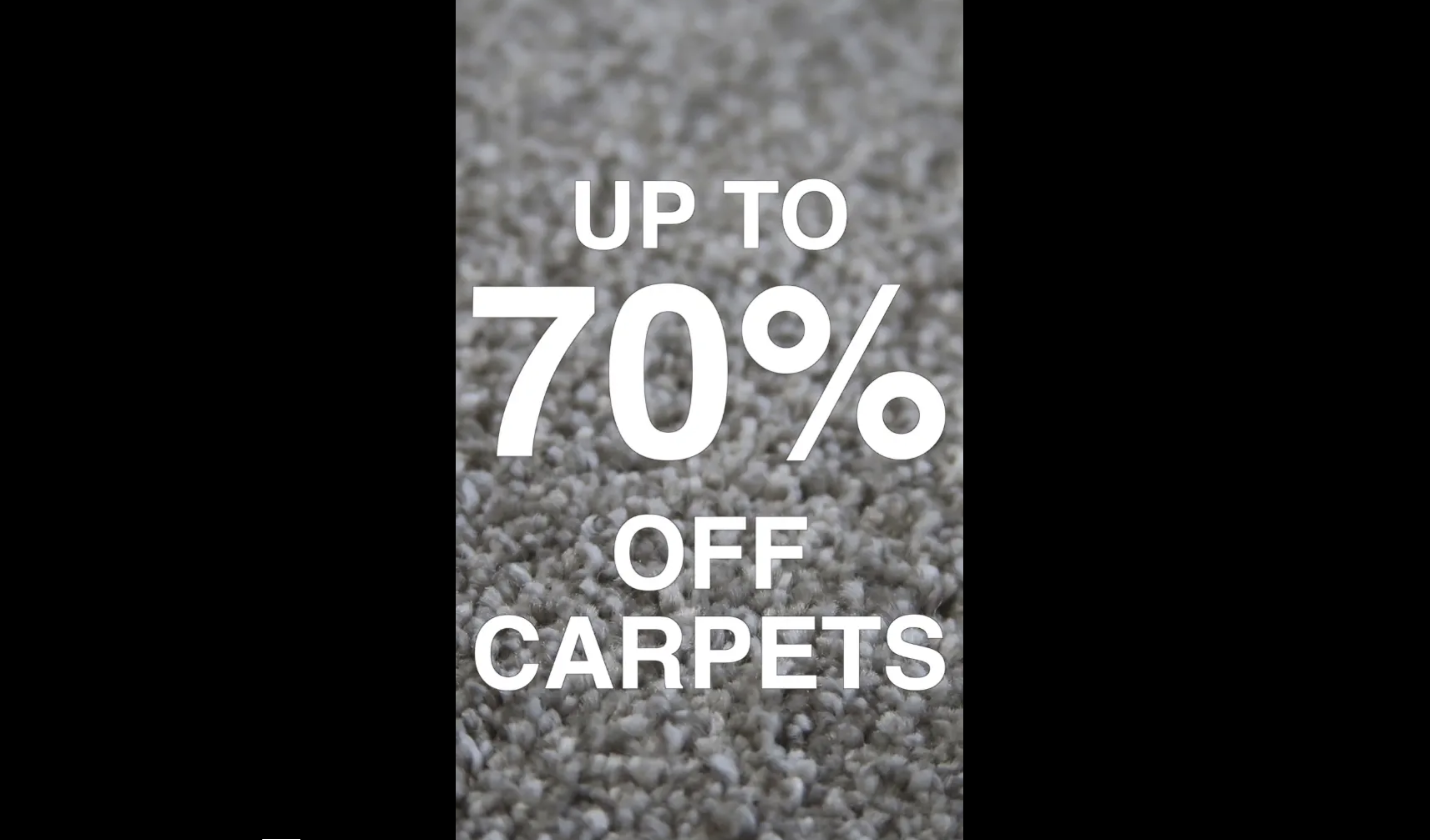 Carpet social media campaign still