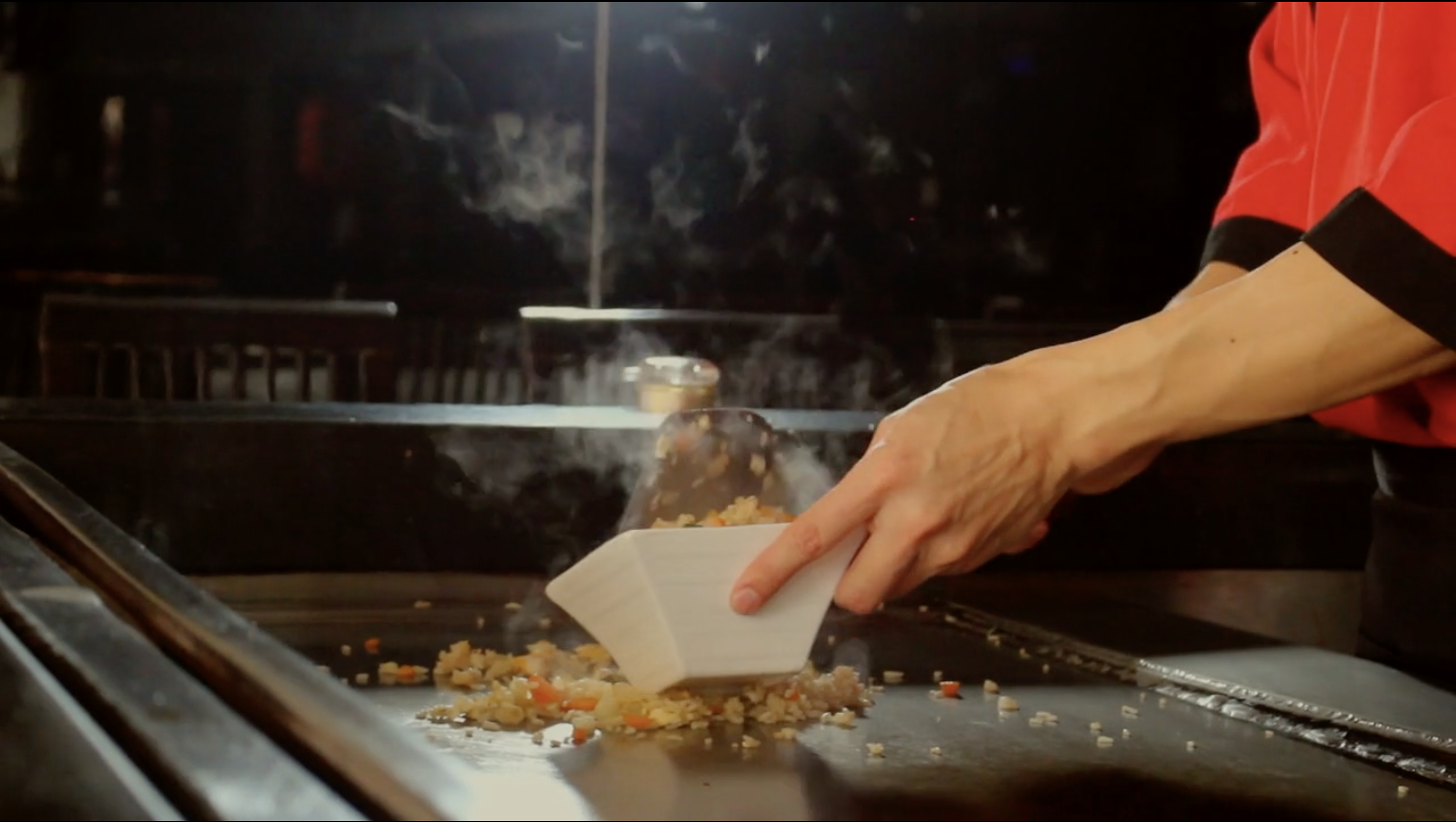 Still of social media video for Japanese restaurant